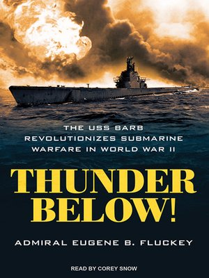 cover image of Thunder Below!