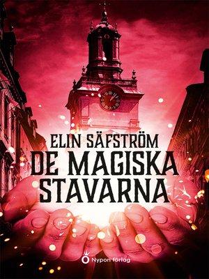 cover image of Säfström De magiska stavarna