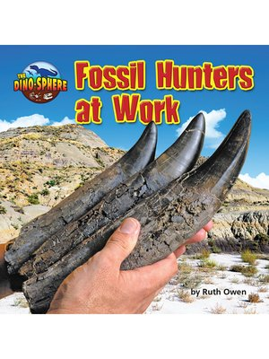 cover image of Fossil Hunters at Work