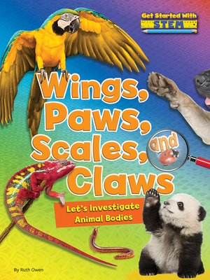 cover image of Wings, Paws, Scales, and Claws
