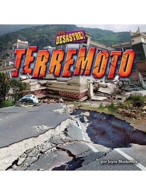 cover image of Terremoto (Earthquake)
