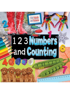 cover image of 1 2 3 Numbers and Counting