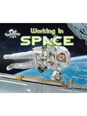 cover image of Working in Space