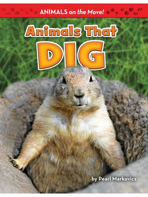 cover image of Animals That Dig
