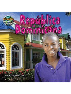 cover image of República Dominicana