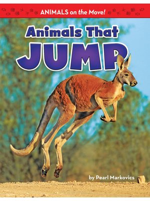 cover image of Animals That Jump