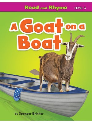 cover image of A Goat on a Boat