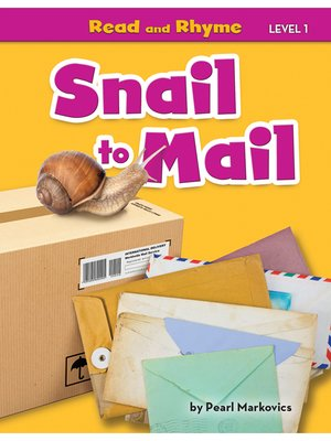 cover image of Snail to Mail