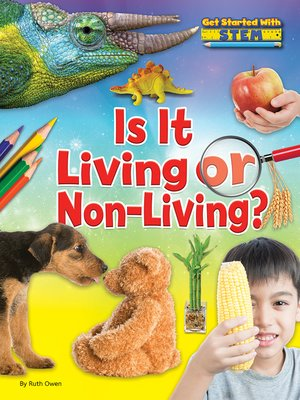 cover image of Is it Living or Non-Living?