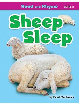 cover image of Sheep Sleep