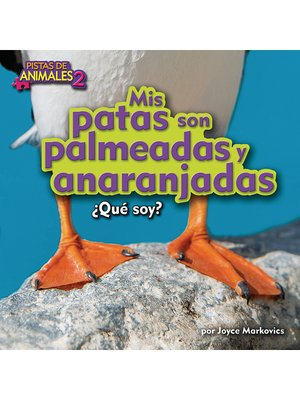 cover image of Mis patas son palmeadas y anaranjadas (Puffin)