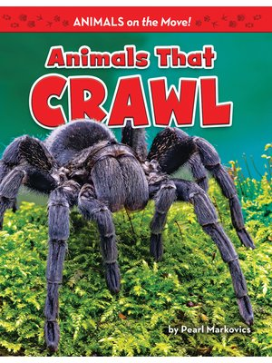 cover image of Animals That Crawl