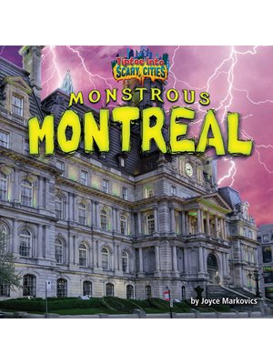cover image of Monstrous Montreal
