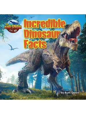 cover image of Incredible Dinosaur Facts