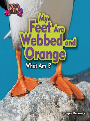 cover image of My Feet Are Webbed and Orange (Puffin)