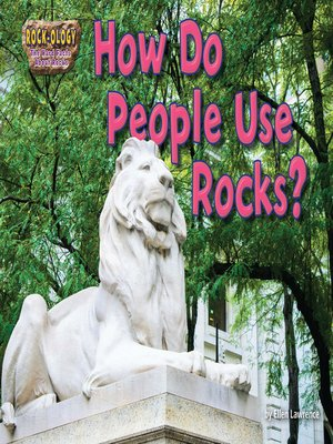 cover image of How Do People Use Rocks?