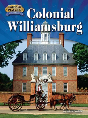 cover image of Colonial Williamsburg