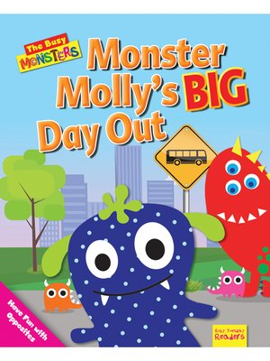 cover image of Monster Molly's BIG Day Out