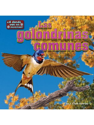 cover image of Las golondrinas comunes (barn swallows)
