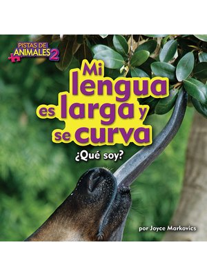 cover image of Mi lengua es larga y se curva (Okapi)