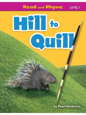 cover image of Hill to Quill