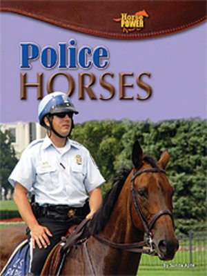 cover image of Police Horses