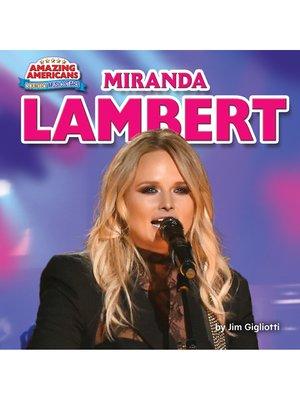 cover image of Miranda Lambert