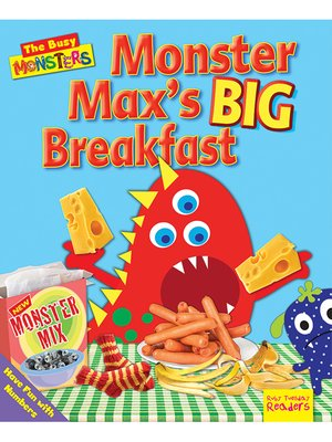 cover image of Monster Max's BIG Breakfast