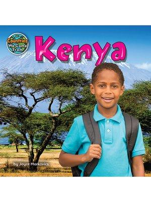 cover image of Kenya