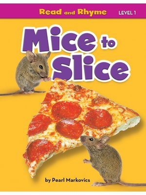 cover image of Mice to Slice