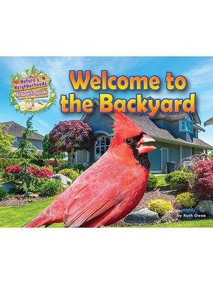 cover image of Welcome to the Backyard