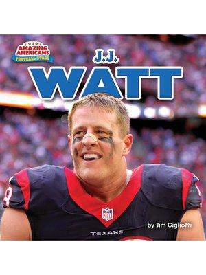 cover image of J.J. Watt