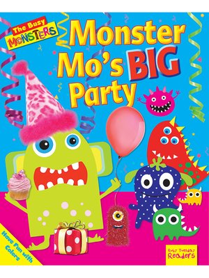 cover image of Monster Mo's BIG Party