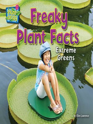 cover image of Freaky Plant Facts