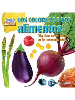 cover image of Los coloresde los alimentos (food)