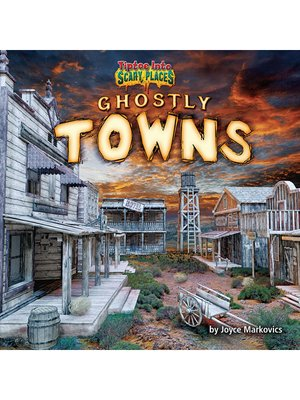 cover image of Ghostly Towns