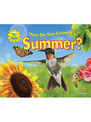 cover image of How Do You Know It's Summer?