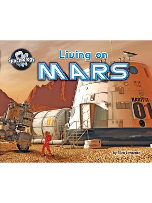 cover image of Living on Mars
