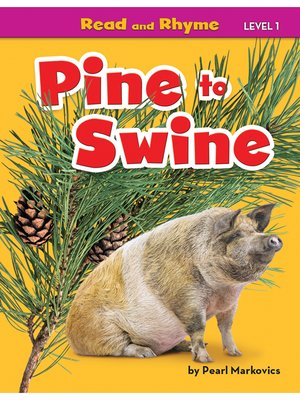 cover image of Pine to Swine