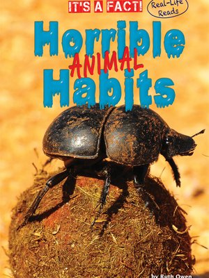 cover image of Horrible Animal Habits