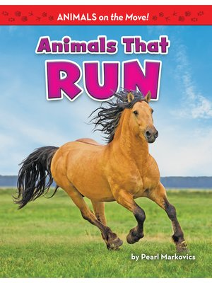 cover image of Animals That Run