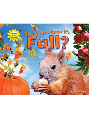 cover image of How Do You Know It's Fall?