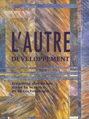 cover image of L'autre développement