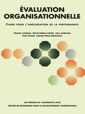 cover image of Évaluation organisationnelle