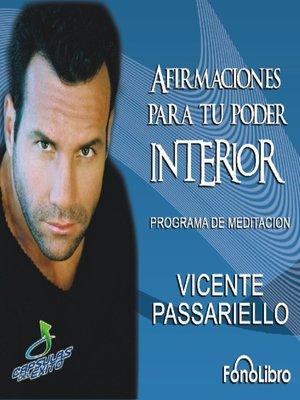 cover image of Afirmaciones para tu poder interior
