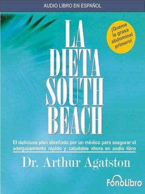 cover image of La dieta South Beach