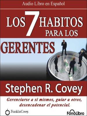 cover image of Los 7 Habitos para los Gerentes