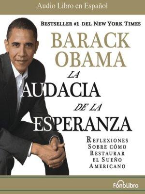 cover image of La Audacia de la Esperanza