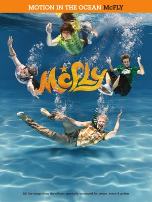 cover image of Mcfly: Motion In The Ocean