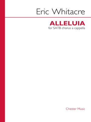 cover image of Eric Whitacre: Alleluia
